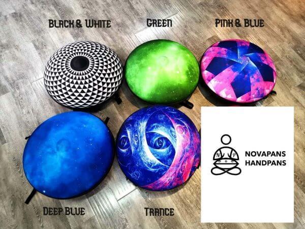 All Handpan Hard Cases by NovaPans Handpans