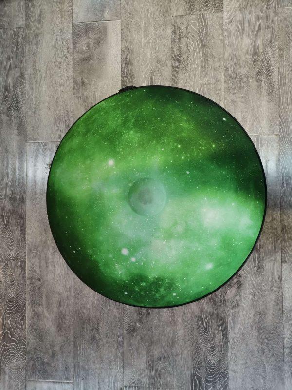 Handpan Hard Case in Green by NovaPans Handpans
