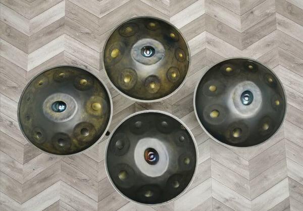 Handpans by NovaPans   Generation 5 B Minor Hijaz