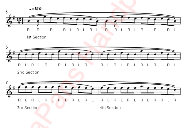 HandpanSheet Music Screenshot