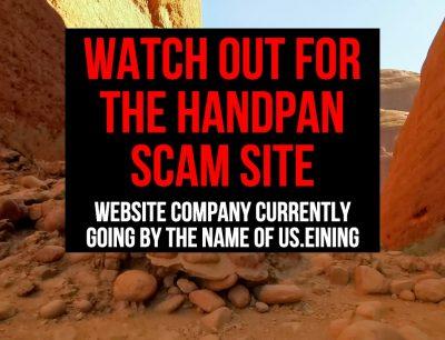 Handpan Warning